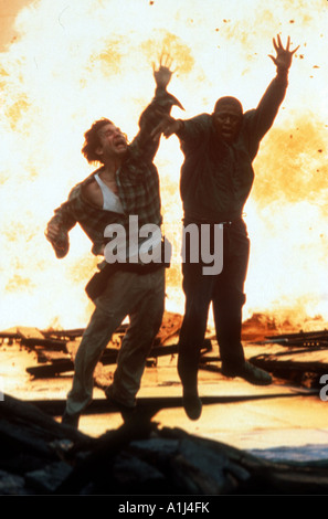 Blown Away Year 1994 Director Stephen Hopkins Jeff Bridges Forest Whitaker - Stock Image