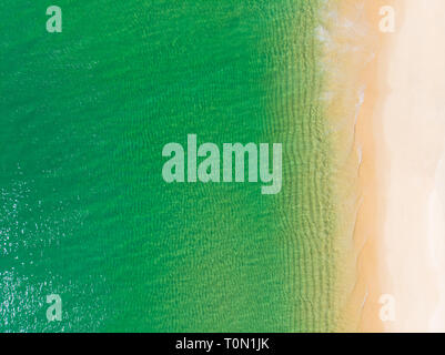 Aerial view of Carvalhal Beach in Comporta, Portugal - Stock Image