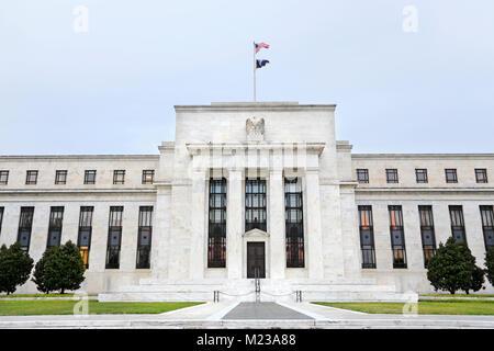 Federal Reserve building, Washington D.C. - Stock Image