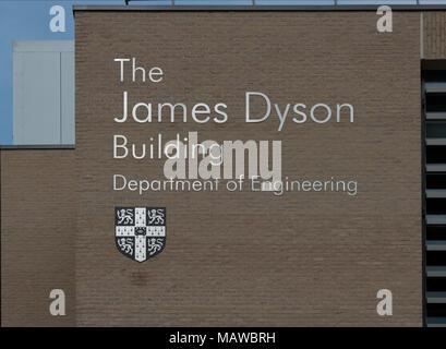 The James Dysan Building, Cambridge University - Stock Image