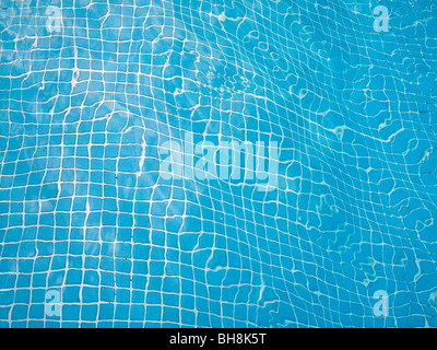 Detail of rooftop pool, Mallorca Balearic Islands Spain - Stock Image