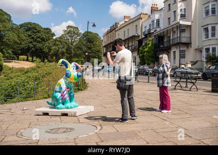 Gromit Unleashed 2, Rasing money for Bristol Royal Hospital for Children, Bristol, UK - Stock Image