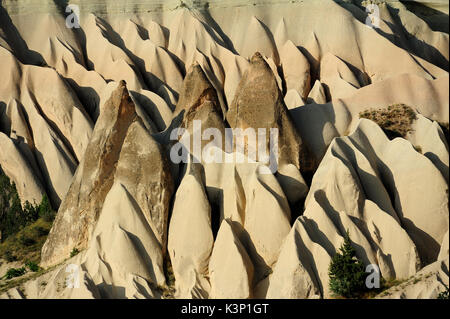 Cappadocia landscape with fairy chimneys in Turkey. - Stock Image