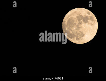 2017 Supermoon - Stock Image