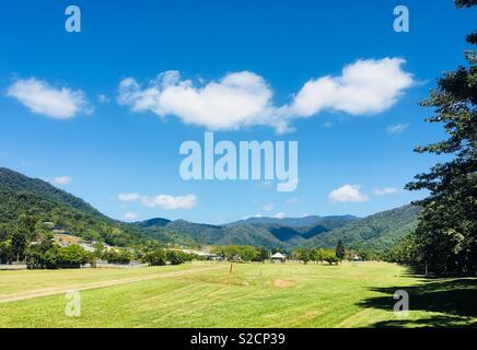 Trip to the park, Queensland Australia - Stock Image