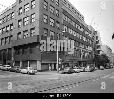 The Czechoslovak Radio Building on Vinohradska Street in Prague, Czechoslovakia, August 13, 1976. (CTK Photo/Jaroslav Barton) - Stock Image