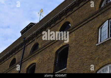 London - St Katherine Docks - Stock Image