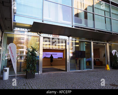 Isar Klinikum private Clinic in Munich city Germany Europe. Quite a lot of foreign patients from Asian Arabic country - Stock Image
