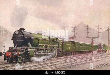 The London Express - Stock Image