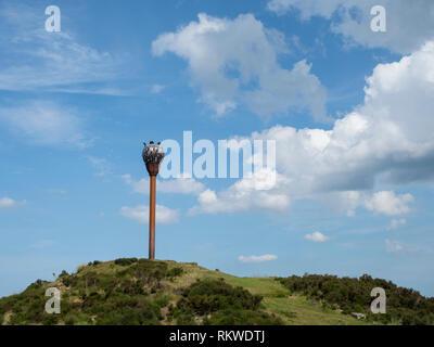 Royal Air Force Danby Beacon. - Stock Image