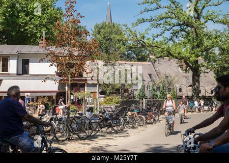 People in Vondelpark Amsterdam, Netherlands - Stock Image
