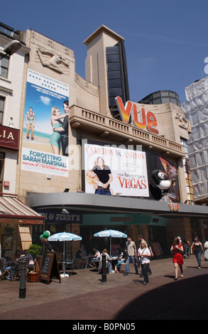Vue Cinema Leicester Square London May 2008 - Stock Image