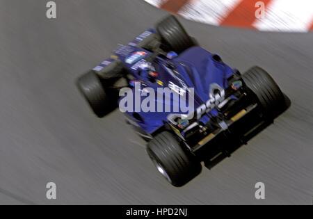 2001 Jean Alesi French Prost AP04 Monaco GP 6th - Stock Image