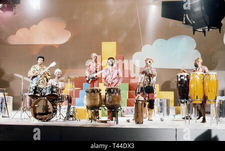 OSIBISA Afrobeat group about 1970 - Stock Image