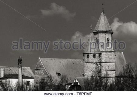 In Love With Gunzenhausen - Stock Image