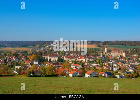 Porrentruy, Jura, Switzerland - Stock Image