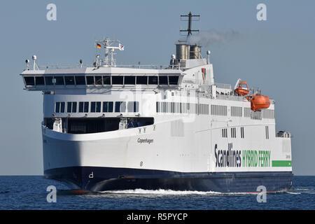 Ferry Copenhagen - Stock Image