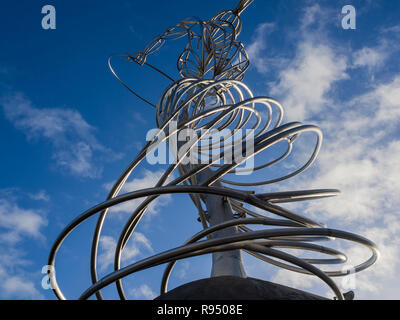 The Beacon of Hope, Belfast city centre - Stock Image