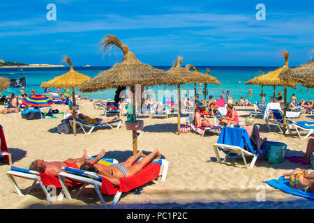 Cala Millor beach - Stock Image
