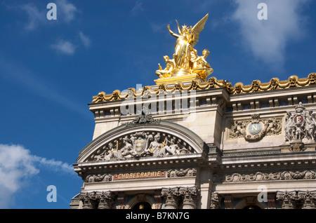 Opera Garnier. Paris. France - Stock Image