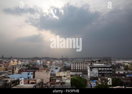 View on Bhopal, Madhya Pradesh, India - Stock Image
