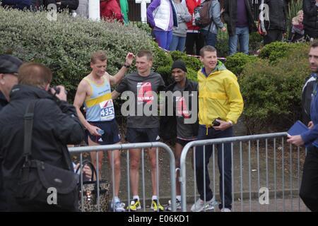 Sunderland Half Marathon - Stock Image