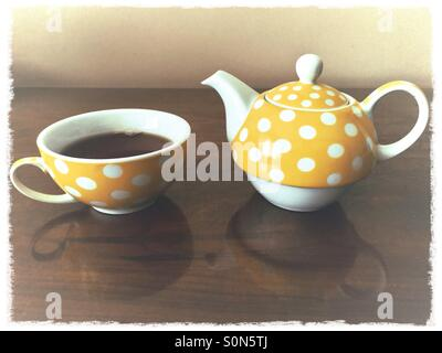 Morning Tea - Stock Image