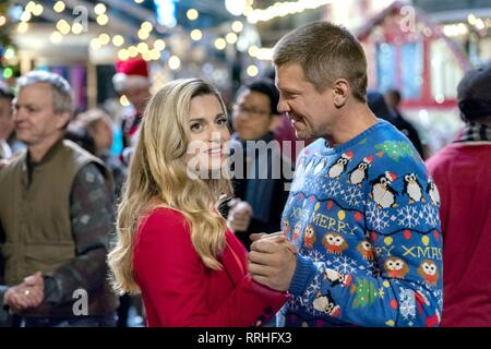 MISS CHRISTMAS, BROOKE D'ORSAY , MARC BLUCAS, 2017 - Stock Image