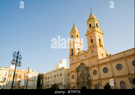 San Antonio Church, Cadiz, Andulucia, Spain - Stock Image