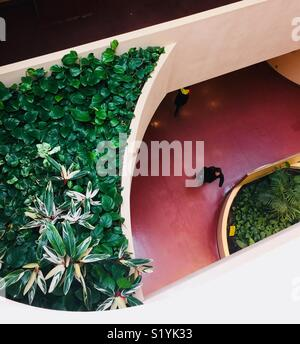 Marin Civic Center overhead view - Stock Image