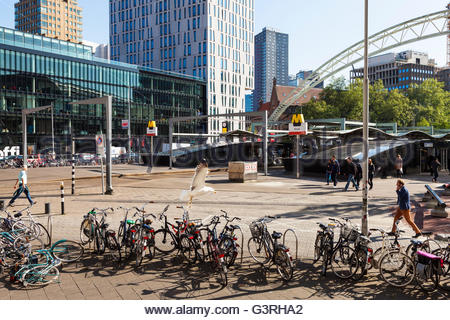Blaak metro station, Rotterdam, Holland - Stock Image