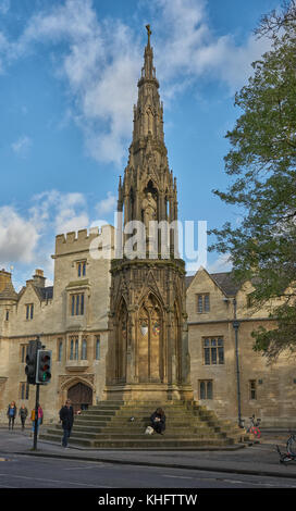 martyrs memorial oxford - Stock Image