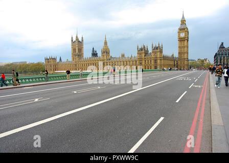 Big ben House of Parliament London - Stock Image