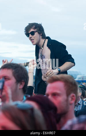 Southsea, UK, 24th Aug, 2014. Victorious Festival - Sunday, Southsea, Hampshire, England. Credit:  MeonStock/Alamy - Stock Image