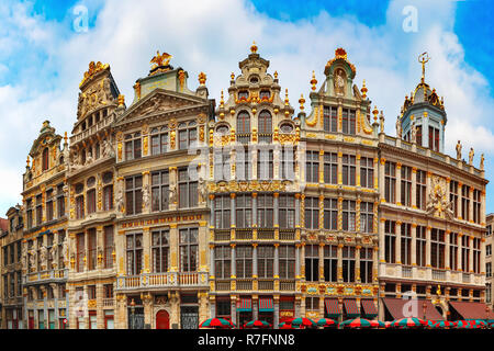 Grand Place Square in Brussels, Belgium - Stock Image