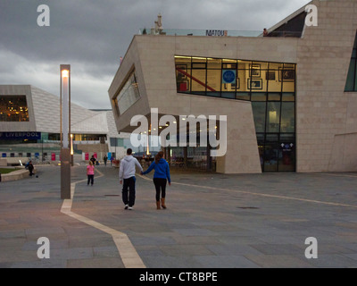 September 2011. Newly opened, The Beatles Story museum, and the new Liverpool Museum in background, Merseyside - Stock Image