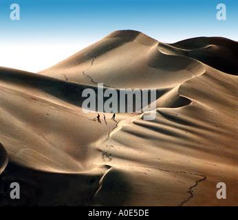 Sand Boarding, Peru - Stock Image