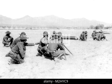 Pancho Villa Expedition, 8th Machine Gun Cavalry, 1916 - Stock Image