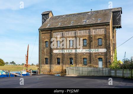 Oyster Bay House,Faversham Creek,Faversham,Kent,England,UK - Stock Image