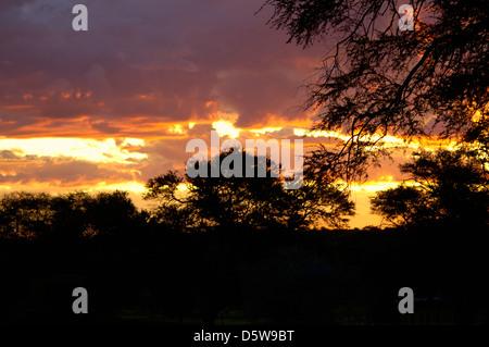 Sunrise Namibia - Stock Image