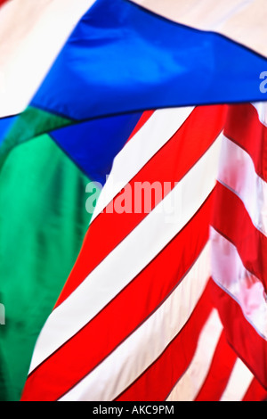 FLAG,, AMERICAN, FLAG,, STARS,, STRIPES,, BLUE,, RED,, WHITE,, CLOSE, UP,, CLOSE,, HISTORY,, PATRIOTIC,, GOVERNMENT,, - Stock Image