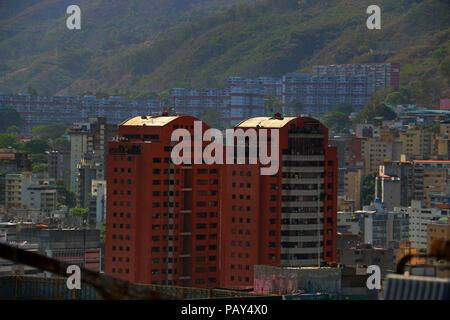 Sabana Grande Caracas Venezuela, Business District in the Metropolitan Area. Vicente Quintero and Marcos Kirschstein - Stock Image