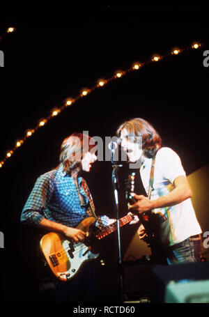 THE EAGLES US rock group about 1973 - Stock Image