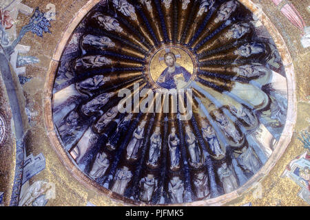 Turkey, Istanbul, Fatih municipality, quarter of Edirnekapi  (andrinople gate), Chora church - Stock Image