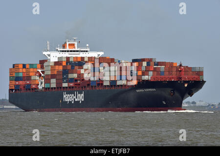 Bremen Express inbound for Hamburg. - Stock Image
