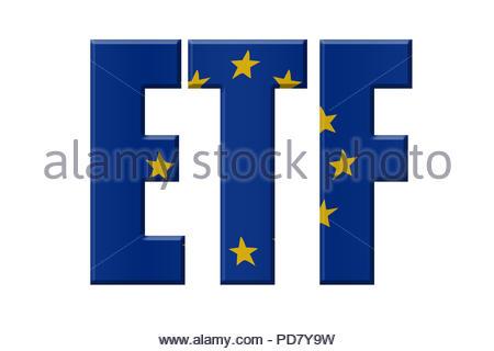 Digital Illustration - EU agency. ETF European Training Foundation, Europäische Stiftung für Berufsbildung, Europese Stichting voor opleiding - Stock Image