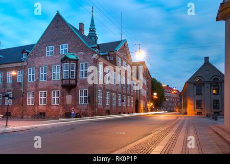 Bishop's House in Copenhagen, Denmark - Stock Image