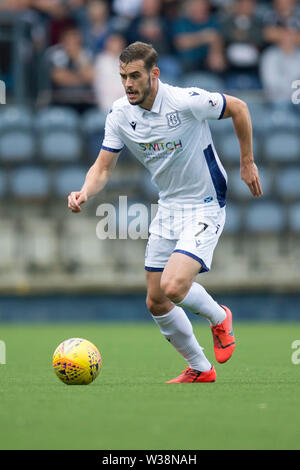 Starks Park, Kirkcaldy, UK. 13th July, 2019. Scottish League Cup football, Raith Rovers versus Dundee; Josh Todd of Dundee Credit: Action Plus Sports/Alamy Live News - Stock Image