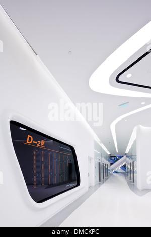 The Zaha Hadid designed Galaxy Soho Retail and Office development, Beijing - Stock Image