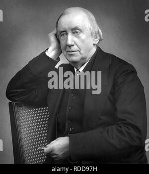 CHARES HALLÉ (1819-1895) German pianist and conductor - Stock Image